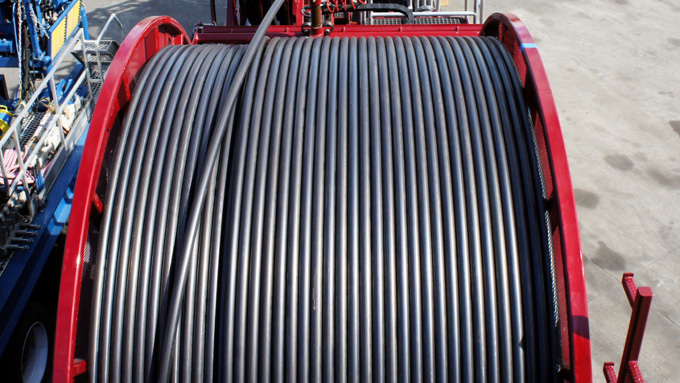 coiled tubing application