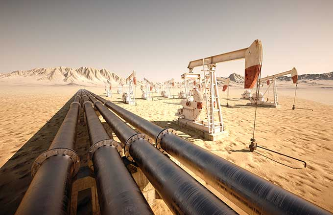 Identification of risks and harmful factors in oil and gas pipeline
