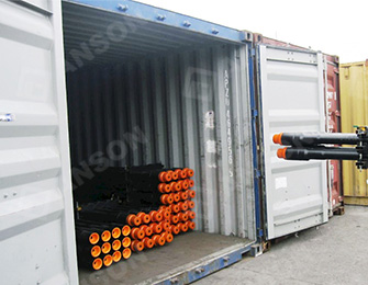 Packing of drill pipes