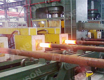 Heating of superior drill pipe
