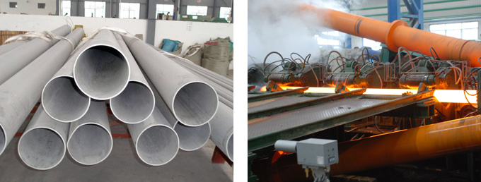 hot and cold rolling seamless tube