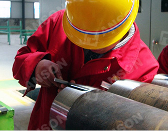 Casing pipe quality test