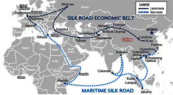 the belt and road