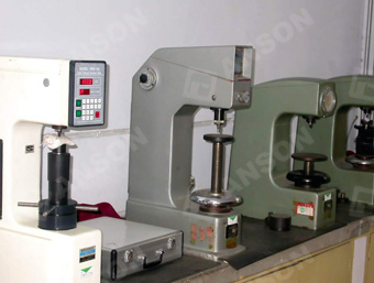 tubing quality control machine